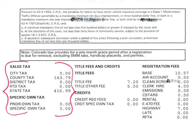 Colorado motor vehicle registration renewal for Department of motor vehicles registration online